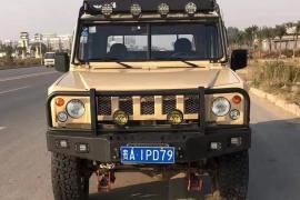 北汽制造 勇士皮卡 2019款 勇士皮卡 2.8T柴油四驱分体双排3350轴距BJ2034HMT51抵押车