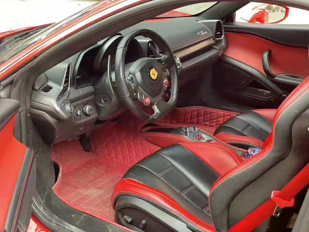 法拉利458(进口) 2013款 法拉利458(进口) Spider