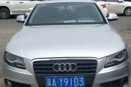 09年小奥迪a4奥迪A4 2008款 奥迪A4 2.0T 自动豪华型抵押车