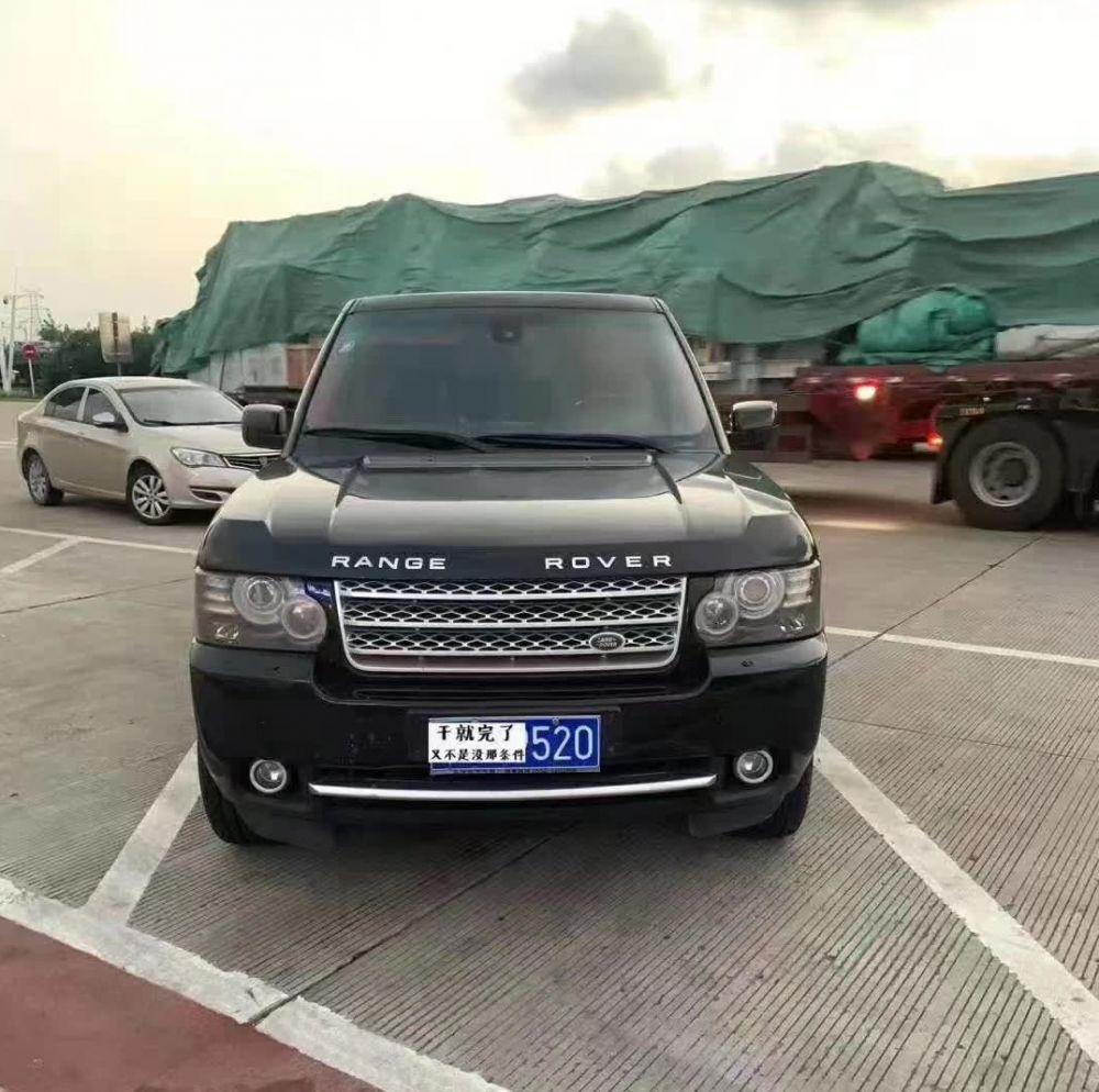 12年路虎行政版揽胜3.6T柴油V8