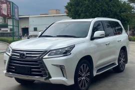 雷克萨斯LX(进口) 2019款 雷克萨斯LX(进口) 570 尊贵豪华版抵押车