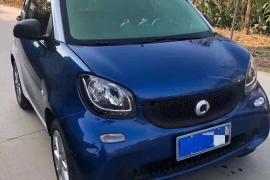 Smart Fortwo(进口) 2017款 Fortwo(进口) 1.0L 魅蓝特别版 国V抵押车