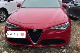 阿尔法·罗密欧 Giulia(进口) 2017款 Giulia(进口) 2.0T 200HP 豪华版抵押车