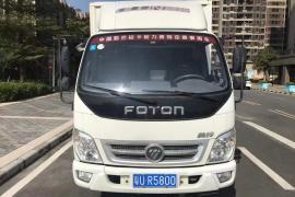 福田 奥铃CTX 2012款 奥铃CTX 3.8L(115kw)(轴距4700)厢式车抵押车
