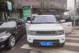 路虎 揽胜运动版(进口) 2011款 揽胜运动版(进口) 3.0T TDV6 抵押车