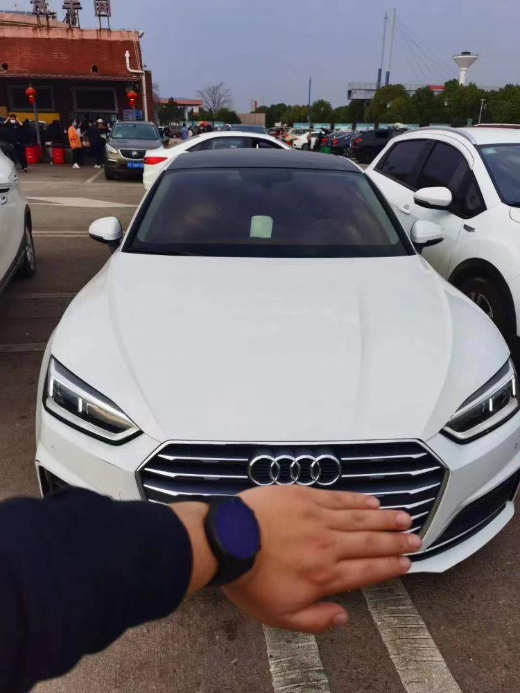奥迪A5(进口) 2019款 奥迪A5(进口) Coupe 40 TFSI 时尚型