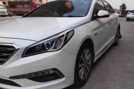 现代 索纳塔九 2017款 索纳塔九 1.6T DLX尊贵型抵押车