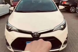 丰田 雷凌 2017款 雷凌 1.2T V CVT豪华版抵押车