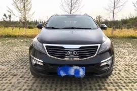 起亚 智跑 2012款 智跑 2.4L 四驱 自动 Premium抵押车