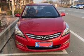 现代 瑞纳 2016款 瑞纳 1.4L 手动旗舰型TOP抵押车