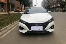 现代 悦纳 2020款 悦纳 1.4L CVT炫酷版GLS抵押车