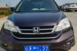 本田CR-V 2013款 本田CR-V 2.4L 四驱 豪华版抵押车