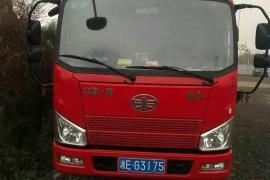 19年7月解放牌4.2米箱式货车抵押车