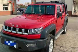 北京汽车 北京BJ40 2018款 北京BJ40 PLUS 2.0T 手动四驱尊贵版抵押车
