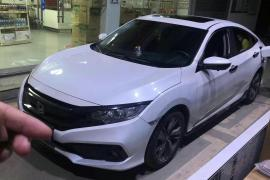 准2020年本田思域,1.5T自动高配抵押车