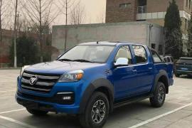 2020年福田皮卡 拓路者E5 2.4汽油两驱抵押车