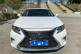 雷克萨斯ES(进口) 2018款 雷克萨斯ES(进口) 300h 尊享版 国VI抵押车