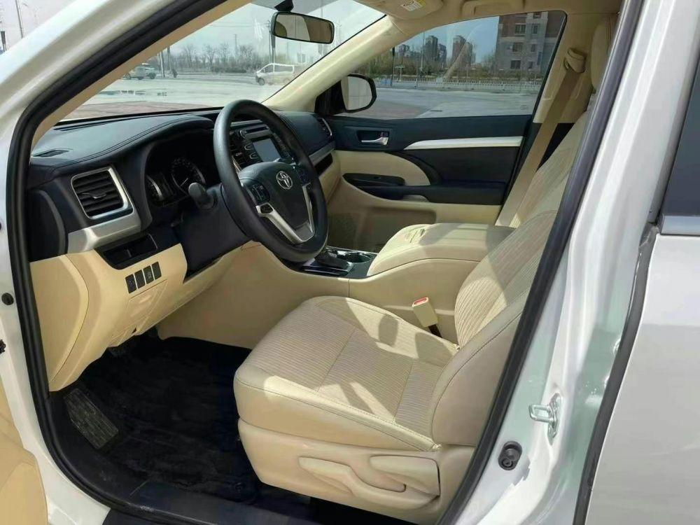 丰田 汉兰达 2021款 汉兰达 2.0T 四驱豪华版 7座