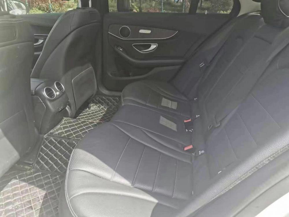18年奔驰C200L运动加长版,2.0T怀挡高配