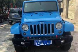 Jeep 牧马人(进口) 2017款 牧马人(进口) 3.0L 四门舒享版 Sahara抵押车
