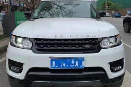 路虎 揽胜运动版(进口) 2016款 揽胜运动版(进口) 3.0 V6 SC SE抵押车