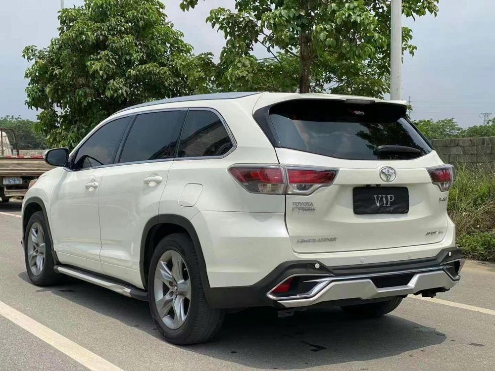 丰田 汉兰达 2018款 汉兰达 2.0T 四驱豪华版 7座 国VI