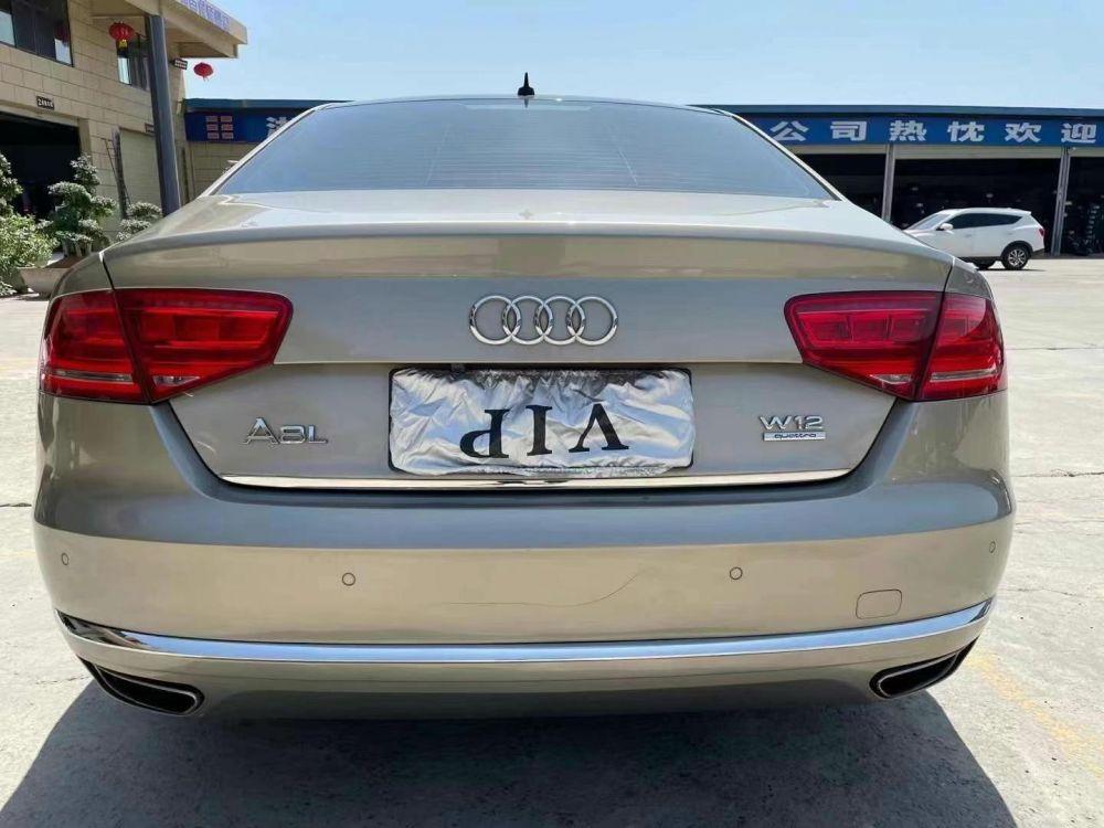 奥迪A8L(进口) 2012款 奥迪A8L(进口) 50 TFSI quattro 尊贵型