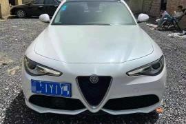 19年进口阿尔法罗密欧GiuLia 2.0T豪华版阿尔法·罗密欧 Giulia(进口)抵押车