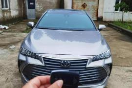 2020年丰田亚洲龙2.5高配丰田 亚洲龙(进口)抵押车