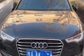 14年奥迪A6,2.0T自动高配奥迪A6L抵押车