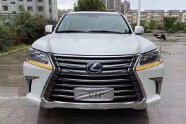 雷克萨斯LX(进口) 2016款 雷克萨斯LX(进口) 570 尊贵豪华版抵押车