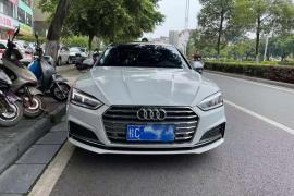 2020年奥迪A5  2.0T四门轿跑车奥迪A5(进口)抵押车