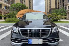 奔驰S级(进口) 2018款 奔驰S级(进口) S450L 4MATIC抵押车