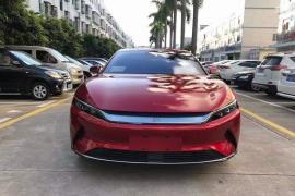比亚迪 汉 2020款 汉 EV 超长续航版尊贵型抵押车