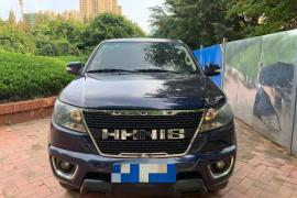 黄海N1 2020款 黄海N1 2.5T N1S两驱柴油运动版加长平底货箱国VI JE4D25Q6A抵押车