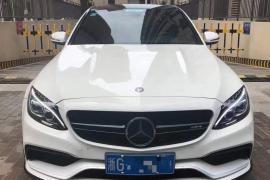奔驰C级AMG(进口) 2015款 奔驰C级AMG(进口) C63 AMG抵押车