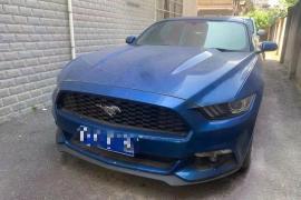 福特 野马Mustang(进口)[Mustang] 2017款 野马(进口) 2.3T 运动版抵押车