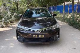 丰田 卡罗拉 2018款 卡罗拉 1.2T S-CVT GL 智享版抵押车