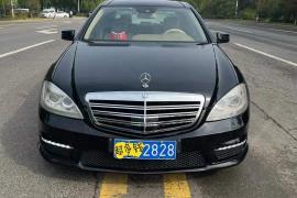 准13年奔驰S300L 3.0V6奔驰S级(进口)抵押车