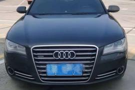 12年奥迪A8L,3.0TQuattro四座行政版,奥迪A8L(进口) 2012款 奥迪A8L(进口) 50 TFSI quattro 豪华型抵押车