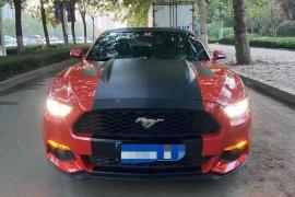 16年全网最帅福特野马,液晶智能钥匙,福特 野马Mustang(进口)[Mustang] 2016款 野马(进口) 2.3T 运动版抵押车